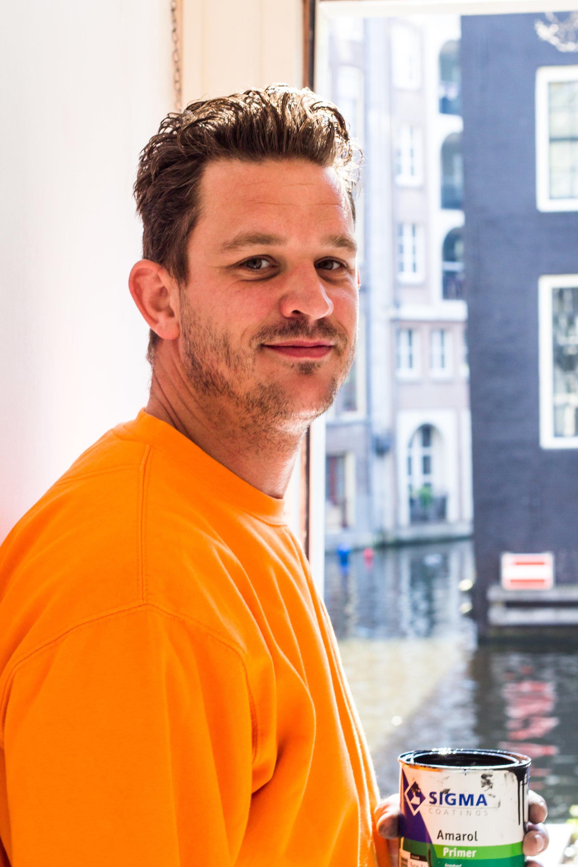 Amsterdamse erkende kwaliteitsschilder Jardo Westerink